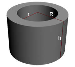 surface area of a tube